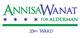 Annisa Wanat for 33rd Ward Alderman
